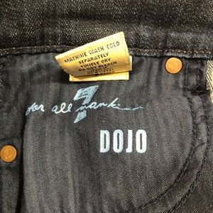 Dojo 7 For all Mankind crop jeans